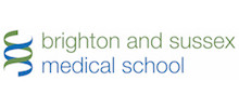 Brighton and Sussex Medical School's logo takes you to their list of jobs