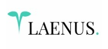 Laenus's logo takes you to their list of jobs