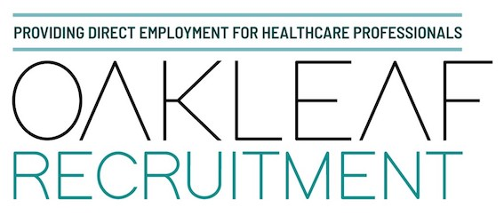 Oakleaf Recruitment's logo takes you to their list of jobs