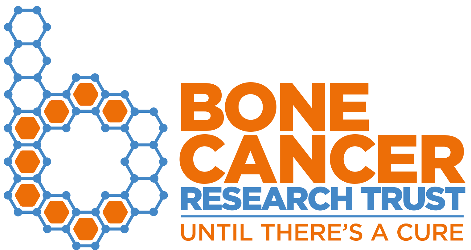Bone Cancer Research Trust's logo takes you to their list of jobs