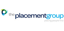 The Placement Group's logo takes you to their list of jobs