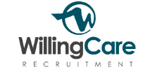 Willing Care Recruitment's logo takes you to their list of jobs