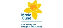 Marie Curie's logo takes you to their list of jobs