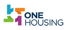 One Housing's logo takes you to their list of jobs