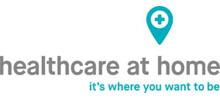Healthcare at Home's logo takes you to their list of jobs