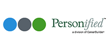 Personified's logo takes you to their list of jobs