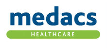 Medacs Healthcare's logo takes you to their list of jobs