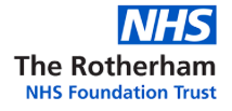 The Rotherham NHS Foundation Trust's logo takes you to their list of jobs