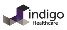 Indigo Healthcare Recruitment's logo takes you to their list of jobs