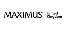 Maximus UK's logo takes you to their list of jobs