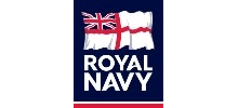 The Royal Navy's logo takes you to their list of jobs