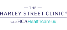 The Harley Street Clinic's logo takes you to their list of jobs