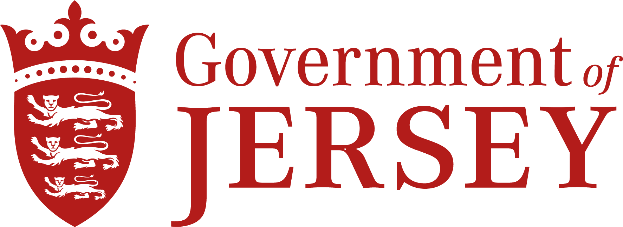 Government of Jersey's logo takes you to their list of jobs