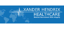 Xander Hendrix Healthcare's logo takes you to their list of jobs