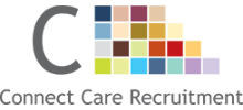 Connect Care Recruitment's logo takes you to their list of jobs
