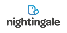 Nightingale's logo takes you to their list of jobs