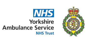 Yorkshire Ambulance Service NHS Trust's logo takes you to their list of jobs