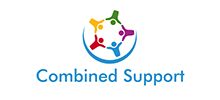 Combined Support's logo takes you to their list of jobs