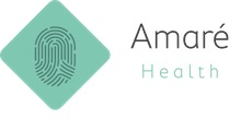 Amare Health's logo takes you to their list of jobs