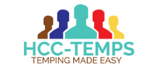 HCC Temps's logo takes you to their list of jobs