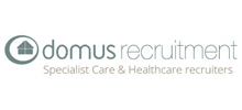 Domus Recruitment's logo takes you to their list of jobs
